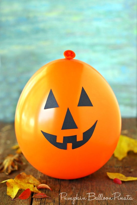 Pumpkin Balloon Pinata