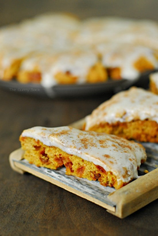 Pumpkin Scones on board