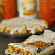 Pumpkin Spice Scones Recipe