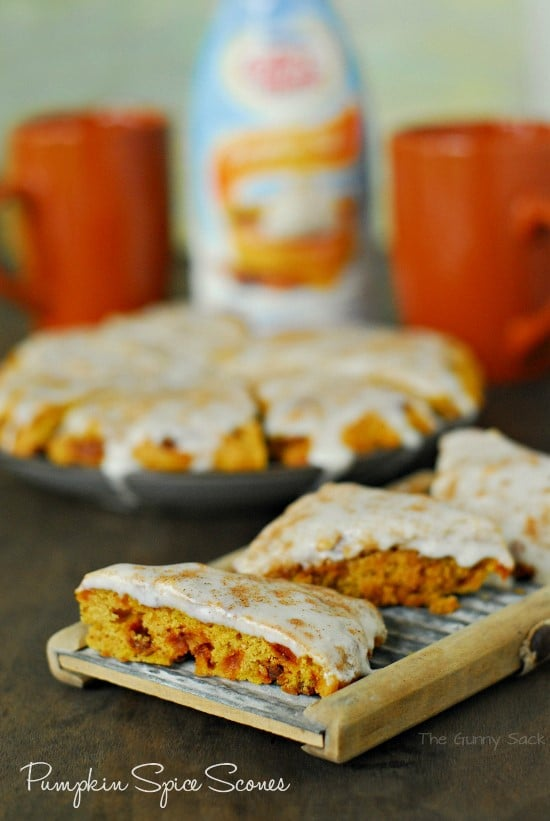 Pumpkin Spice Scones Recipe #shop