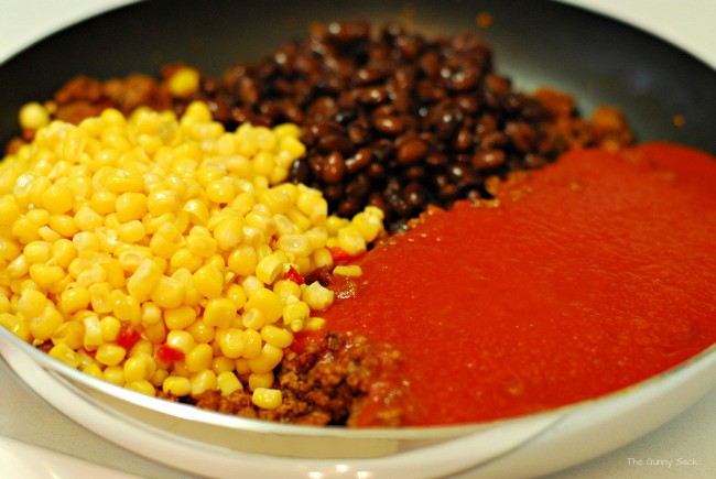 Taco Casserole Ingredients
