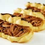 Chocolate Eclair Cream Puff