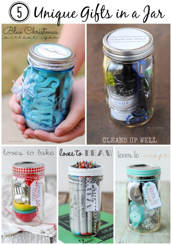 5 Unique Gifts In A Jar