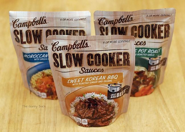 Campbells Slow Cooker Sauces #CampbellsSkilledSaucers