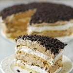 Chocolate Chip Mocha Icebox Cake