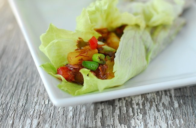 Lettuce Wraps Recipe #CampbellsSkilledSaucers