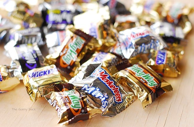 Mini Candy Bars