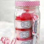 Peppermint Pampering Gift In A Jar