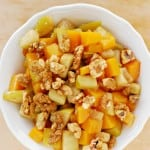 Roasted Butternut Squash Green Apples Candied Walnuts