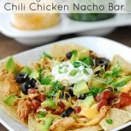 Slow Cooker Nacho Bar