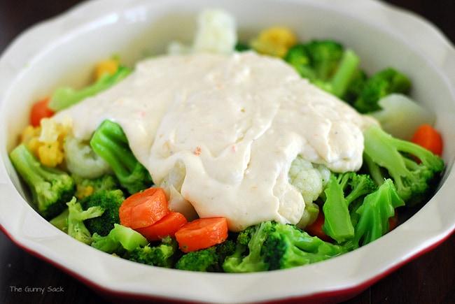 Creamy Veggie Bake