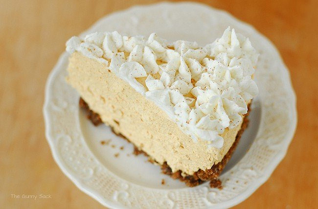 Easy Pumpkin Silk Pie