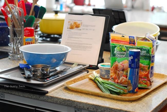 Loaded Baked Potato Pinwheels Ingredients