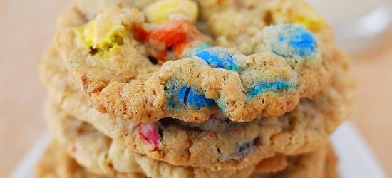 Oatmeal M&M's Cookies Recipe