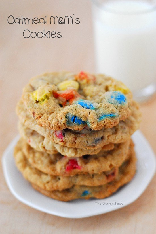 Oatmeal M M S Cookies Recipe