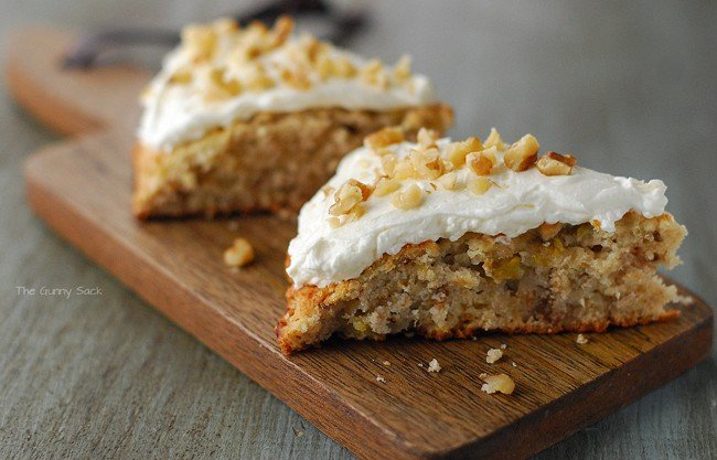 Banana Scones With Nuts