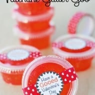 Valentine's Day Glitter Goo Recipe