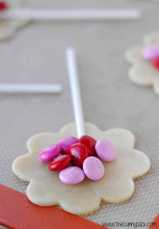M&M Cookie Pops Recipe