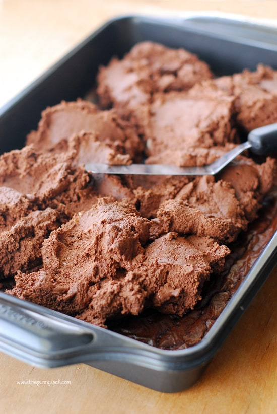 Chocolate Buttercream Truffle Layer