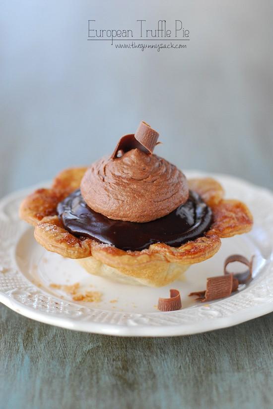 European Truffle Pie