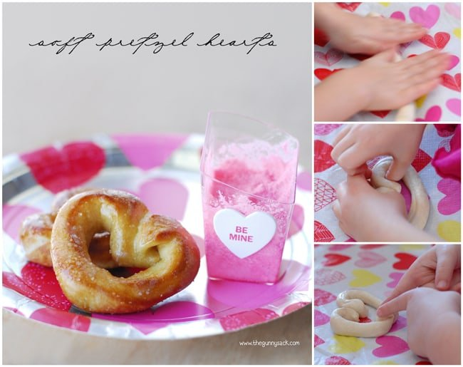 Soft Pretzel Hearts