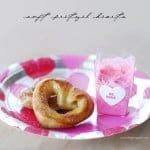 Soft Pretzel Hearts Recipe