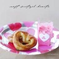 Soft Pretzel Hearts Recipe