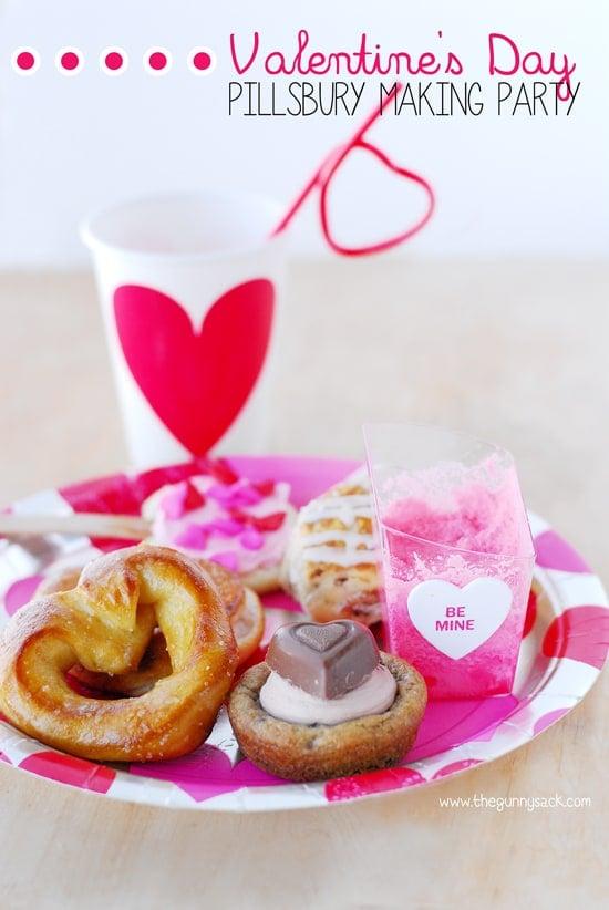 Valentines Day Pillsbury Making Party