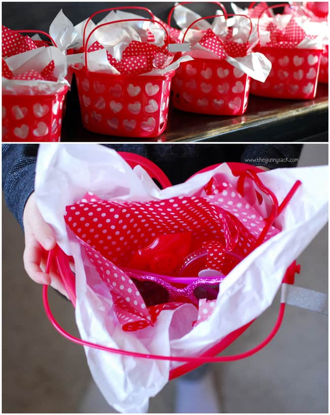 Valentines Party Treat Bags