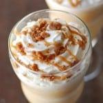 Cinnamon Streusel Coffee Cake Frappe