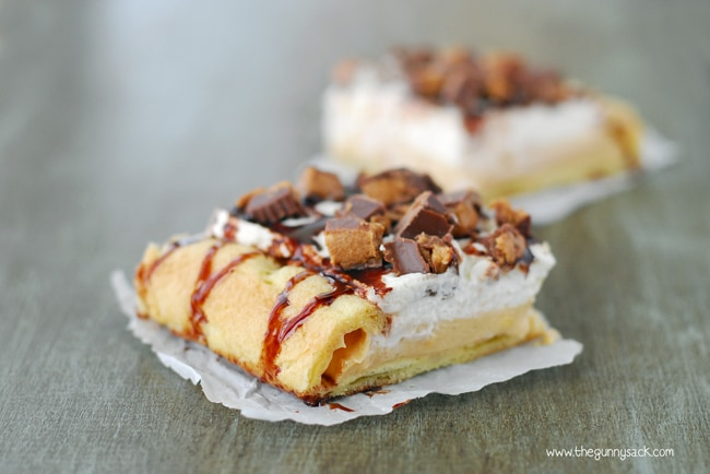 Peanut Butter Moon Pie Slice
