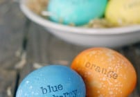 Scented Easter Eggs Tutorial