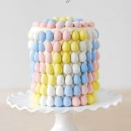 Cadbury Mini Eggs Layer Cake