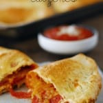 Easy Pepperoni Calzones