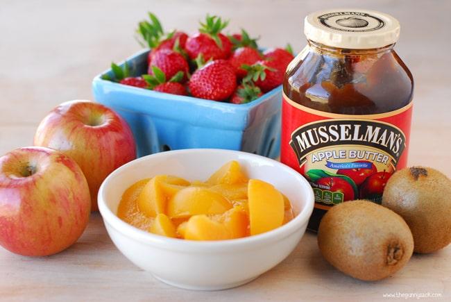 Fruit Salsa Ingredients