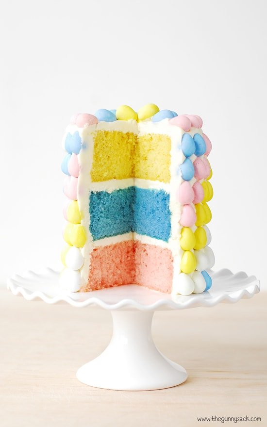 Layer Cake Easter Dessert