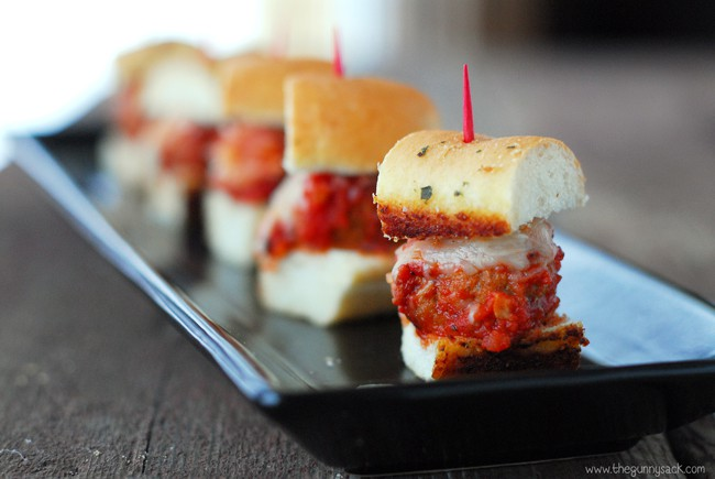 Mini Meatball In Bread