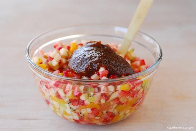 Fruit Salsa In Bowl