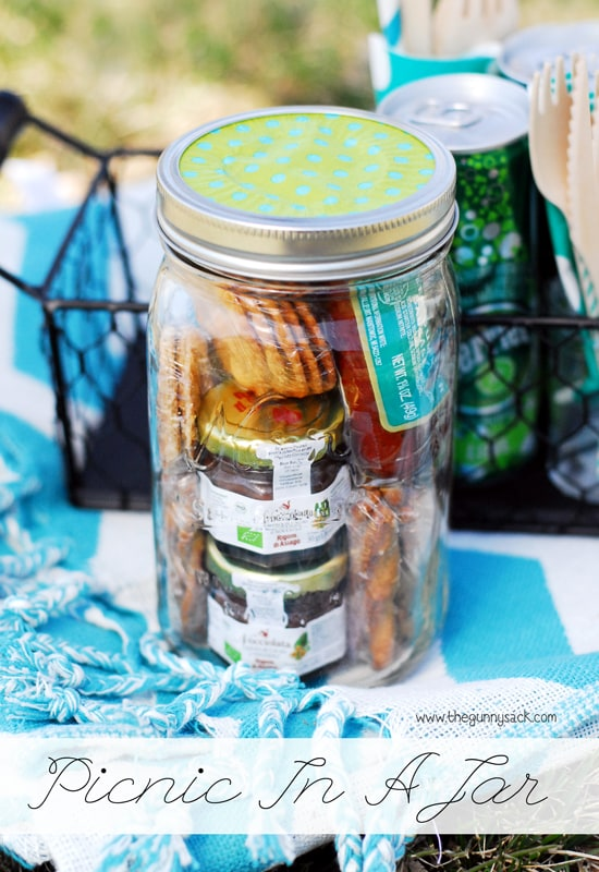 Picnic In A Mason Jar