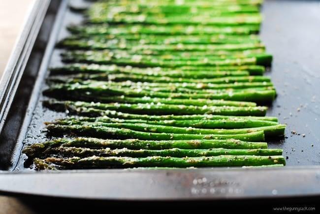 Roasted Asparagas