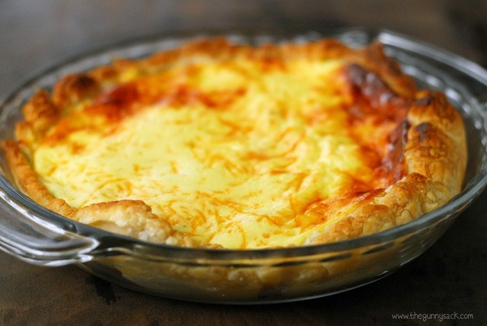 Bacon Cheese Quiche Recipe