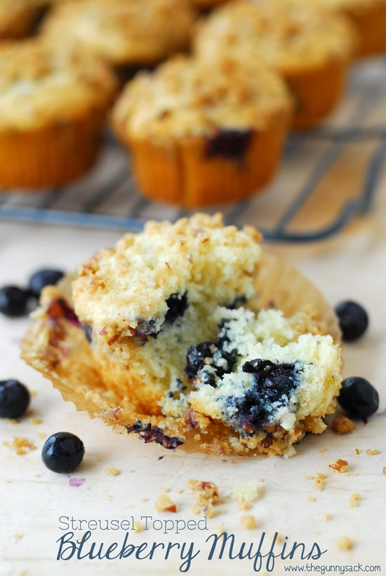 Blueberry Muffin bite