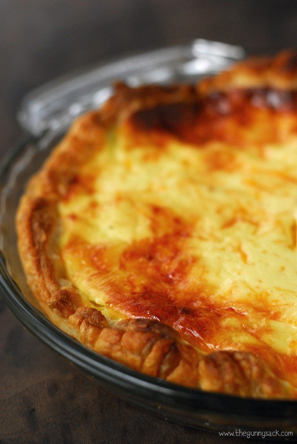 Cheese Bacon Quiche Recipe