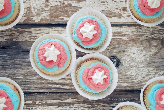 Fourth of July Recipes Cupcakes