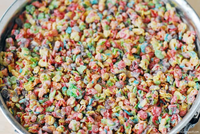 Fruity Pebble Cereal Layer