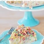 Fruity Pebble Crunch Ice Cream Cake Recipe