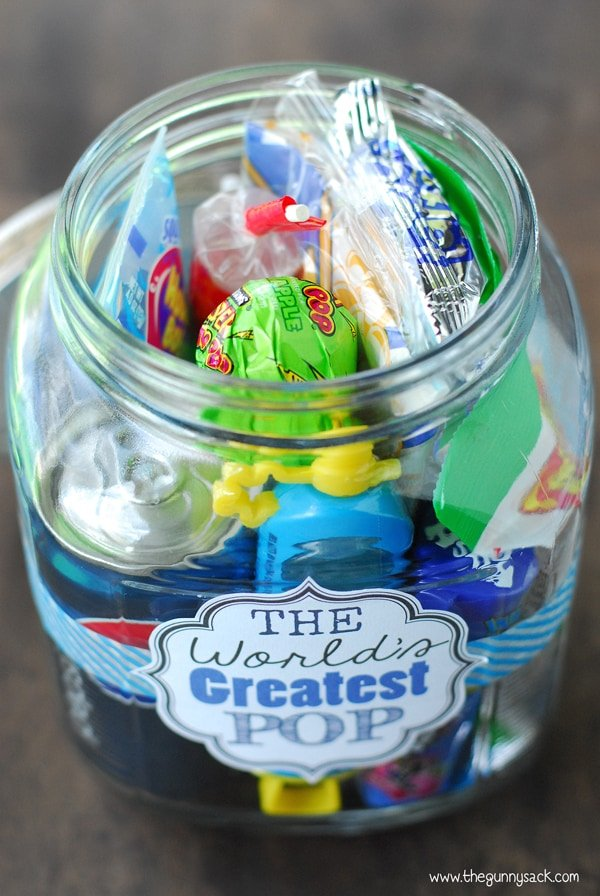 Gift In A Jar For Father's Day
