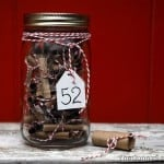 52 Things Mason Jar