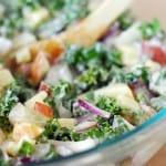 Kale Apple Potato Salad