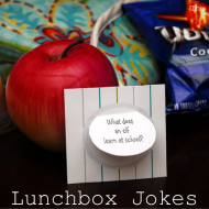 Kid's Lunchbox Jokes Printable